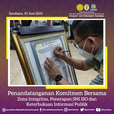 Komitmen Pimpinan, Kapusvetma Ajak Seluruh Jajarannya Berikan Hak Publik Baik yang  Berupa Informasi Publik Maupun Pelayanan